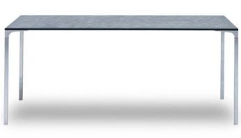 Table Black Stone par Luca Nichetto et Massimo Gardone © Moroso